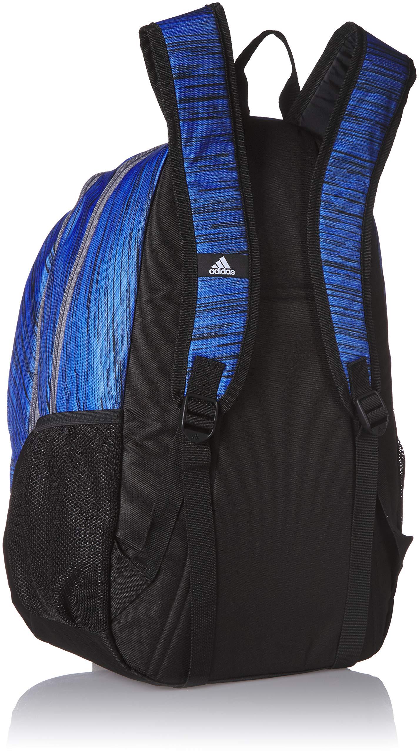 adidas Unisex Foundation Backpack, Real Blue Looper/Grey, ONE SIZE