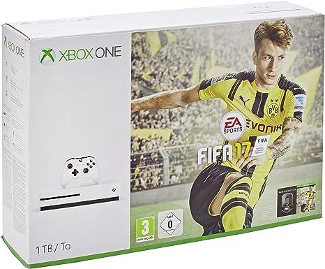 Xbox One S Fifa 17 Bundle (1 TB) [Importación Inglesa]: Amazon.es ...