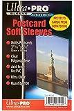 Ultra Pro Postcard Sleeves, 100 Sleeves