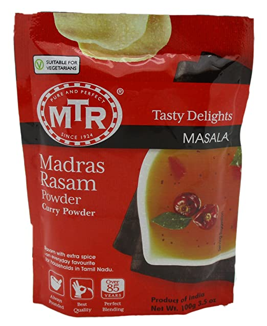 MTR Madras Rasam Powder Best Quality, 100G