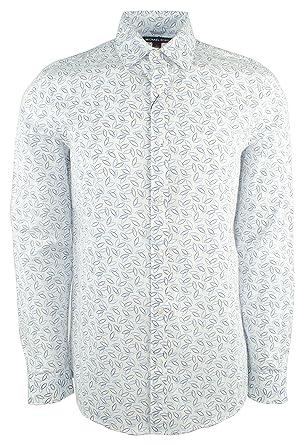 bffbb18f7bf6b Michael Kors Men s Trim Stretch Cotton Long Sleeve Shirt at Amazon Men s  Clothing store