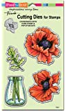 Stampendous DCS5096 Pretty Poppies Die Cut Set
