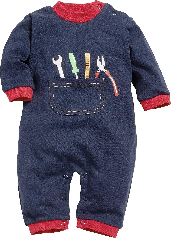 Schnizler Baby-Jungen Schlafstrampler Schlafoverall Heimwerker