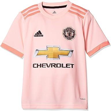 Adidas Unisex Kids Manchester United Fc Away Authentic Short Sleeve Jersey Amazon Co Uk Clothing