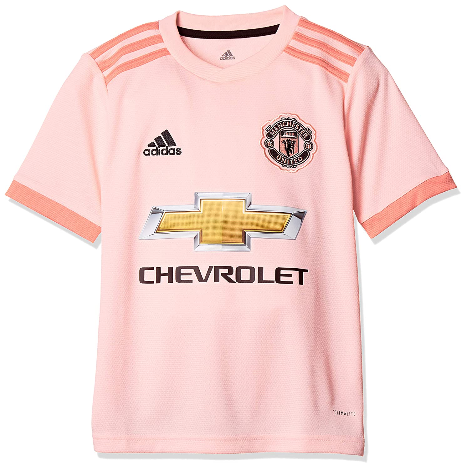 1fedc13a0 adidas Children's Manchester United Fc Away Authentic Short Sleeve Jersey:  Amazon.co.uk: Clothing