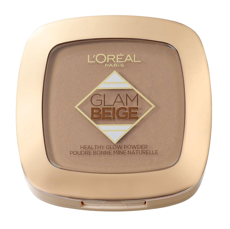 L'Oréal Paris Make Up Designer Glam Beige Poudre de Teint Effet Bonne Mine Peau Médium à Mate 9g 3600523372232