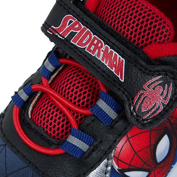 Marvel Spiderman Hi Top Trainers