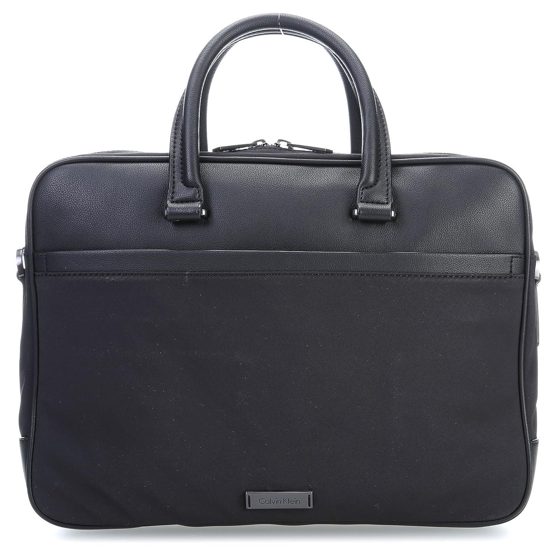 Calvin Klein Adam Nylon 14   Cartella con scomparto per laptop nero   Amazon.it  Abbigliamento 48af4505f7b