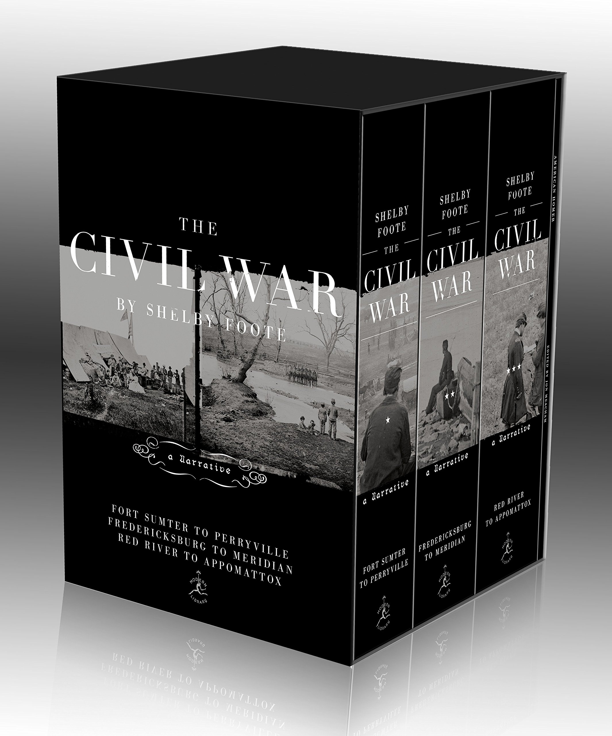 The Civil War Trilogy Box Set: With American Homer: Reflections on Shelby Foote and His Classic The Civil War: A Narrative (Modern Library) by Brand: Modern Library