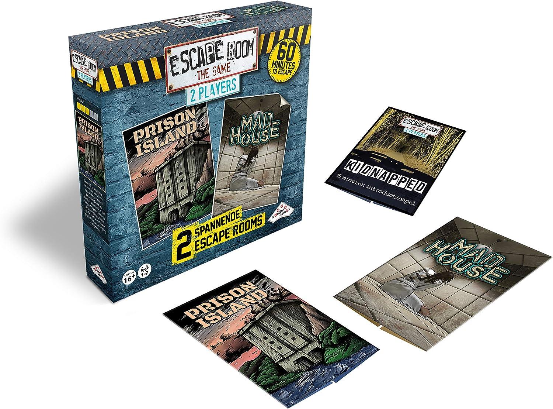 Identity Games Escape Room The Game: 2 Player - Juego de Tablero: Amazon.es: Juguetes y juegos