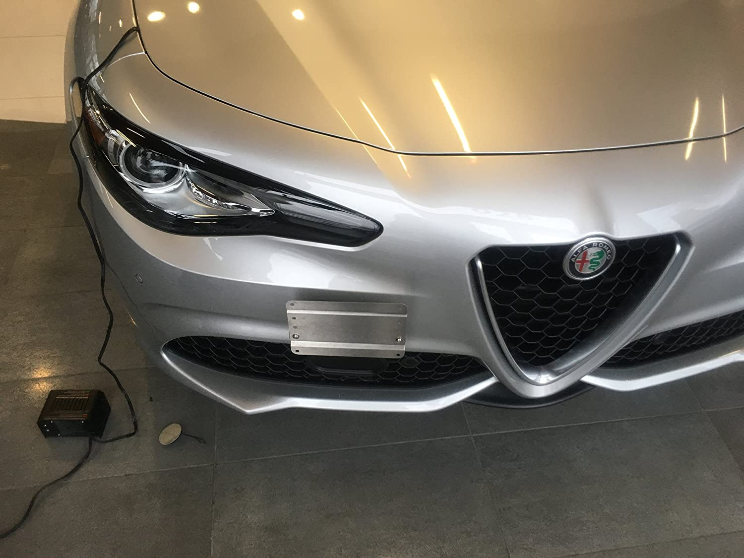 GMG Motorsports ALFA Romeo Giulia NO Holes License Plate Bracket Kit