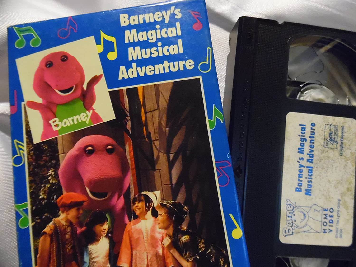 amazon com barney u0027s magical musical adventure sing along movies u0026 tv