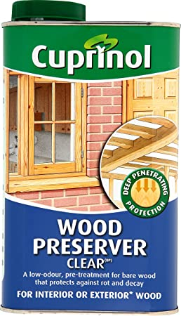 CUPRNOL 5083486 Wood Preserver Clear (Bp) Exterior Woodcare