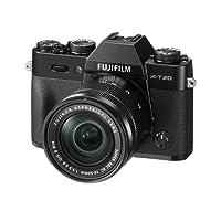 """Fujifilm X-T20 Fotocamera Digitale 24MP con Obiettivo XC 16-50mm F3.5-5.6 OIS I, Sensore CMOS X-Trans III APS-C, Schermo LCD Touchscreen 3"""" Orientabile, Filmati 4K, Nero"""