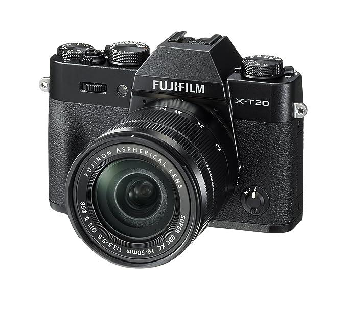 Fujifilm X-T20 Systemkamera mit XC16-50mm II Objektiv Kit (Touch LCD 7,6cm (2,99 Zoll) Display, 24,3 Megapixel APS-C X-Trans