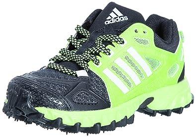 Adidas Kanadia 6 TR Athletic Shoes Children Solar Slime / Black / Chalk 2