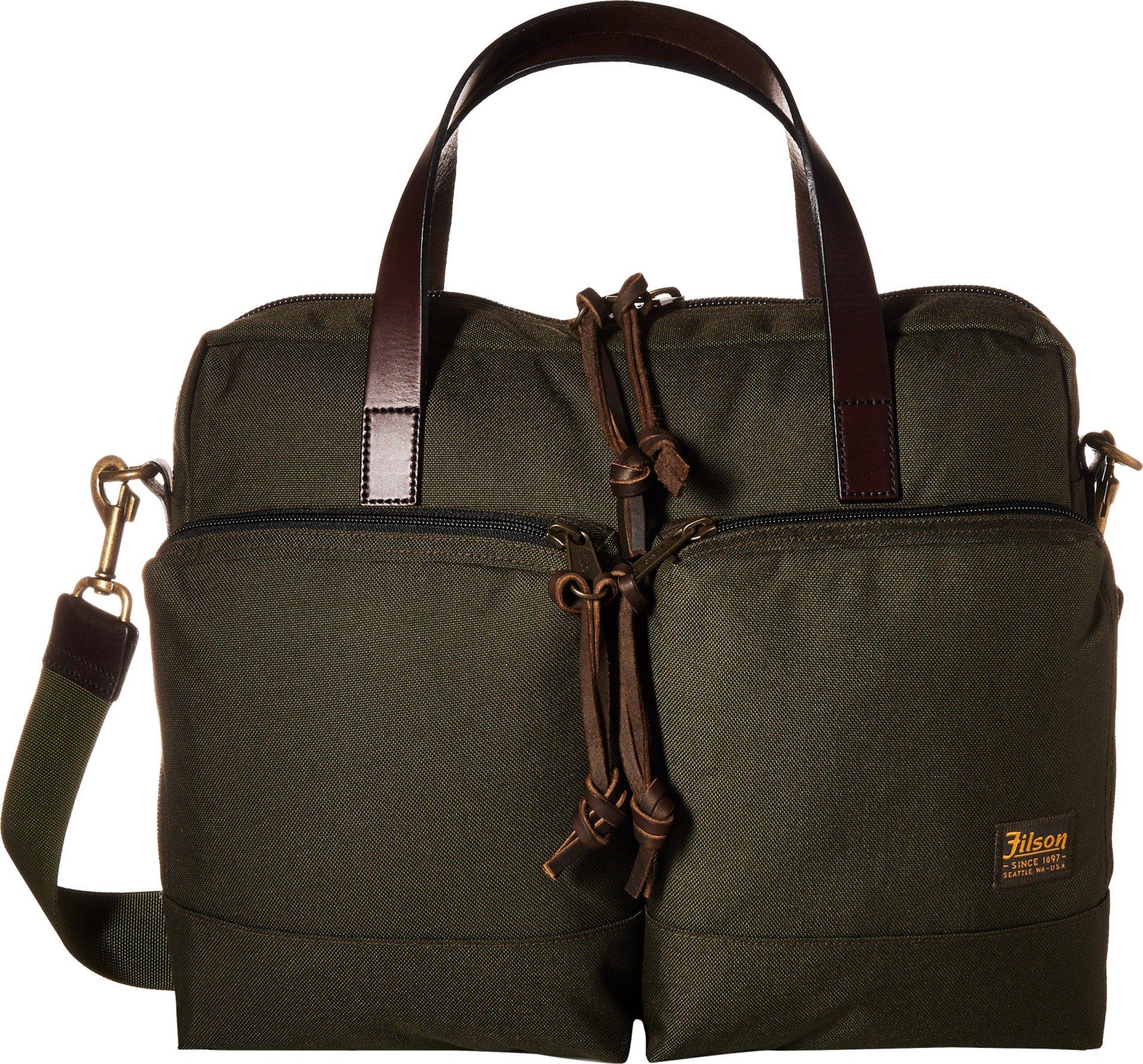 Filson Men's Dryden Briefcase, Otter Green, One Size
