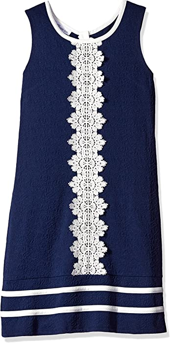 96bc6a3c282 Amazon.com  Bonnie Jean Girls  Little Sleeveless Shift Dress