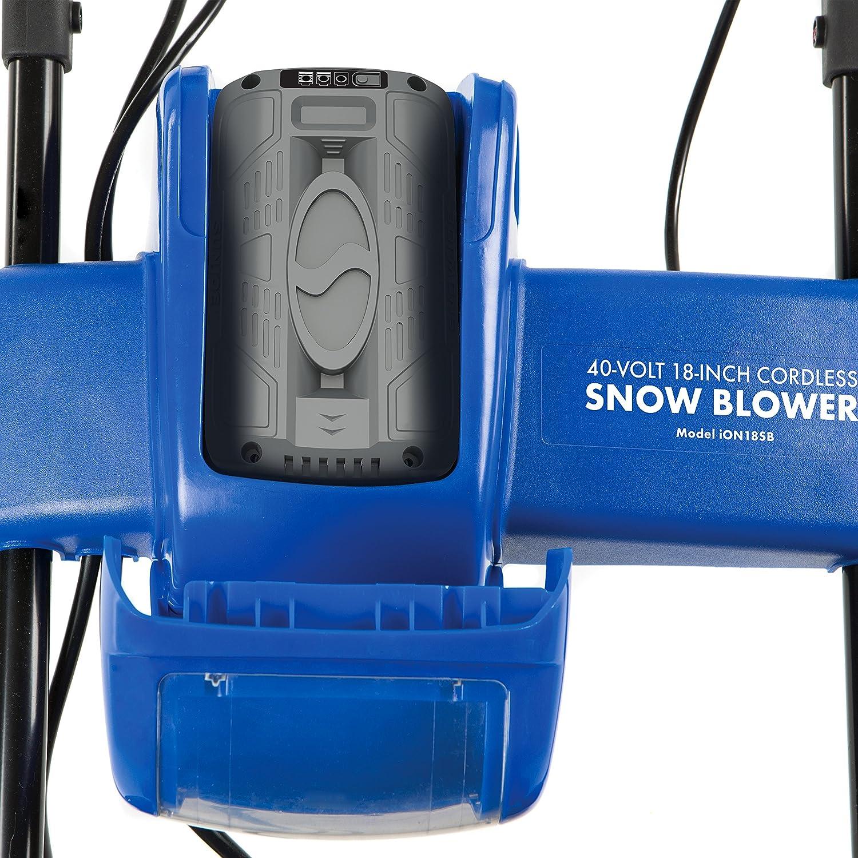 snow joe cordless snow blower review