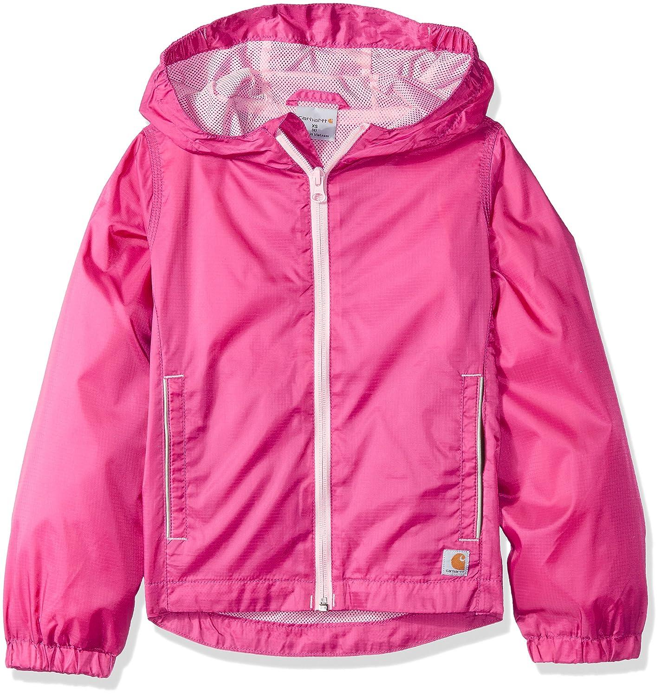Carhartt Girls' Packable Rain Jacket