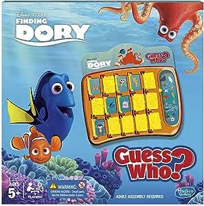 Finding Dory Encontrar a Dory ¿Adivina quién Juego, Color no. (Hasbro 13969): Amazon.es: Juguetes y juegos