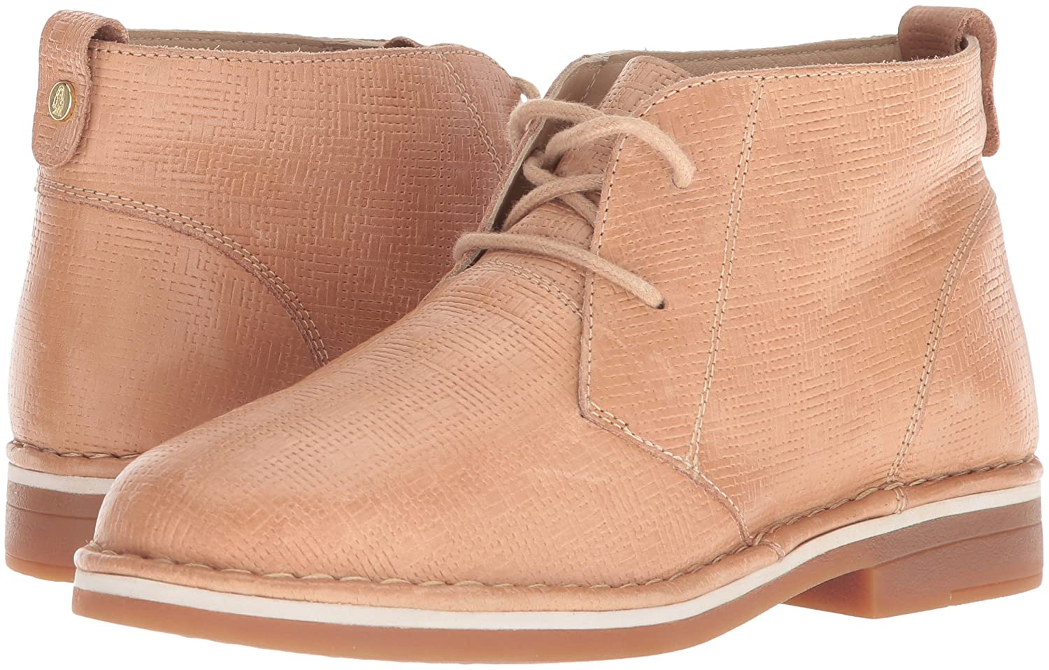 Hush Puppies Women's Cyra Catelyn Ankle Boot B0746X68YD 6 W US|Natural Embossed Leather