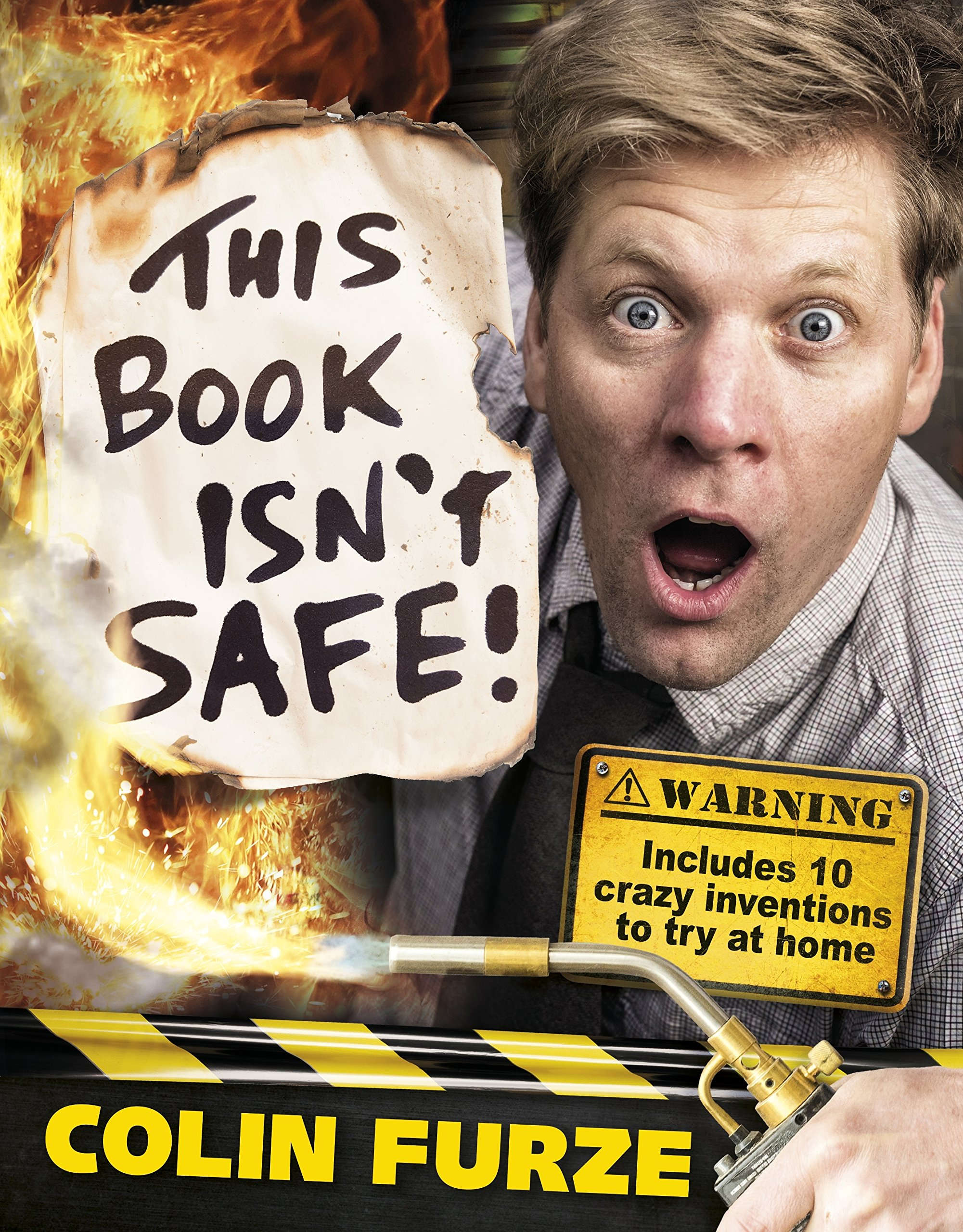 Colin Furze  This Book Isn't Safe