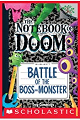 Battle of the Boss-Monster: A Branches Book (The Notebook of Doom #13) Kindle Edition
