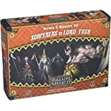 CoolMiniOrNot Current Edition Massive Darkness Sorcerers vs Lord Tusk Board Game