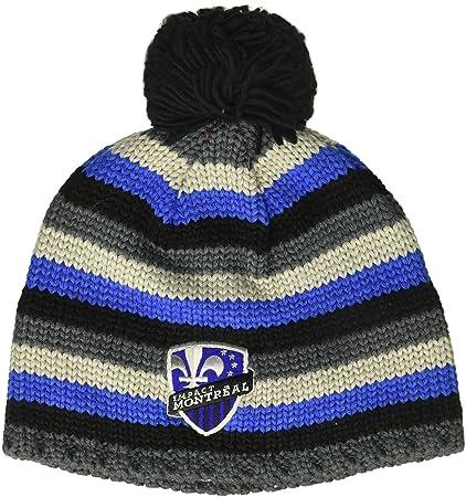 1637320b03e3e Amazon.com   adidas MLS Montreal Impact Men s Textured Beanie with ...