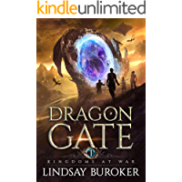Kingdoms at War: An Epic Fantasy Adventure (Dragon Gate Book 1)