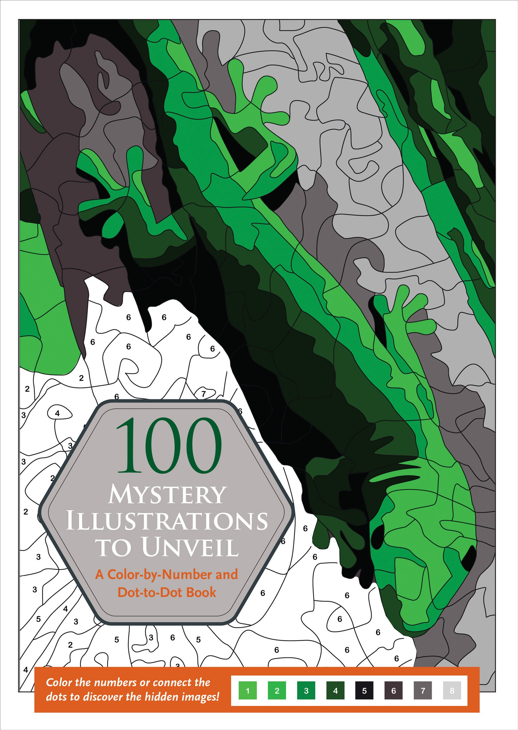 Amazon.com: 100 Mystery Illustrations to Unveil: A Color-by-Number ...