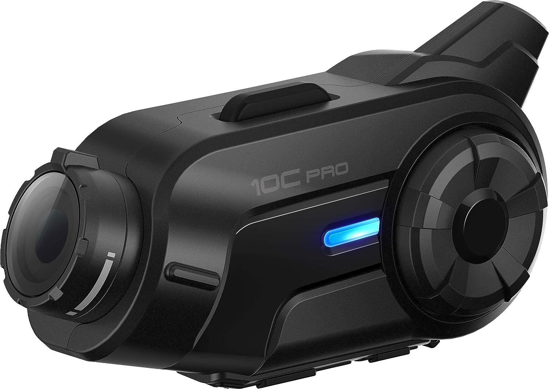 10C Pro Motorcycle Bluetooth Camera /& Communication System