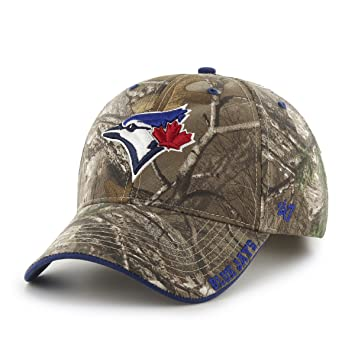 outlet store 48c81 5054a MLB Toronto Blue Jays Frost MVP Adjustable Hat, One Size, Realtree  Camouflage, Baseball Caps - Amazon Canada