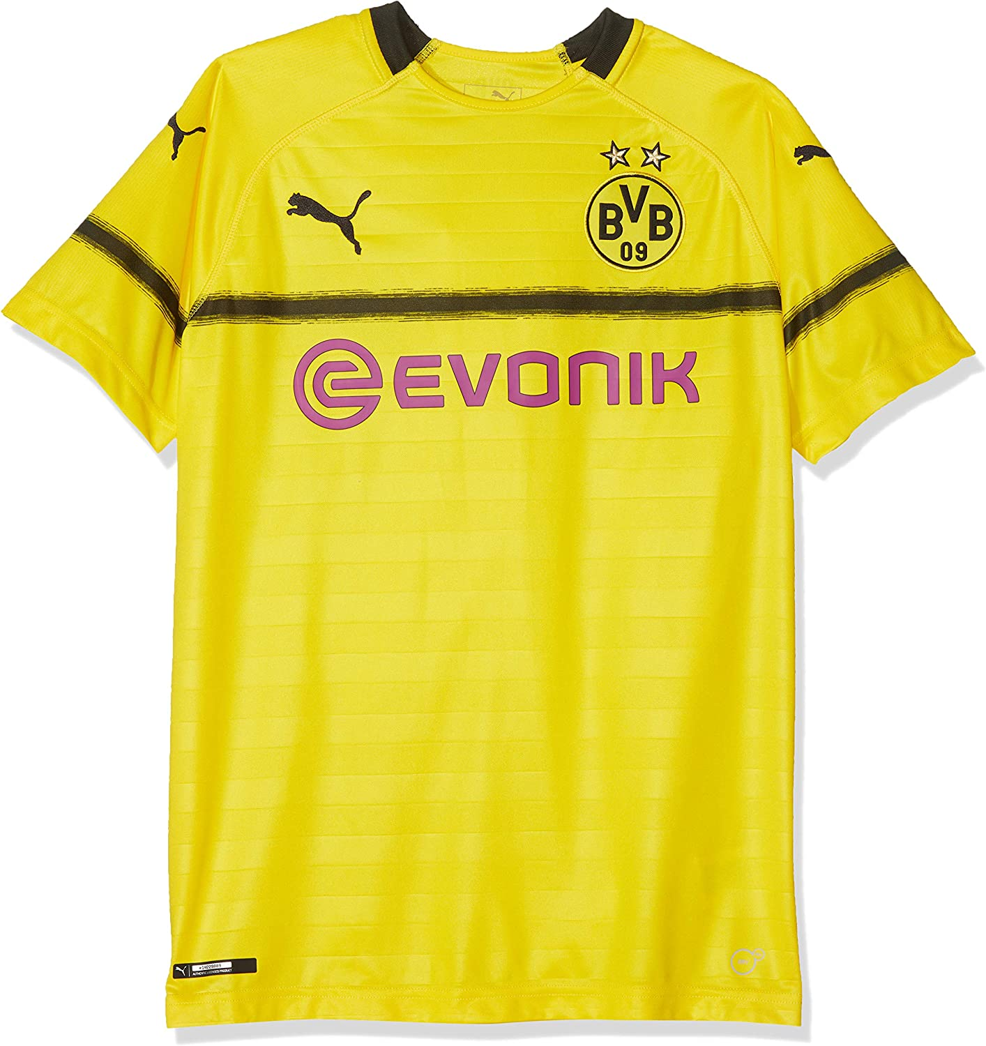 Amazon Com Puma 2018 2019 Borussia Dortmund Ucl Home Football Soccer T Shirt Jersey Kids Clothing