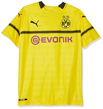 sports shoes d45ef 22fd2 PUMA Children's BVB Cup Shirt Replica Jr with Evonik Without ...