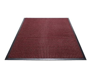 d9a9fcabb26d Guardian WaterGuard Indoor/Outdoor Wiper Scraper Floor Mat, Rubber/Nylon,  3'x5', Red: Amazon.ca: Industrial & Scientific