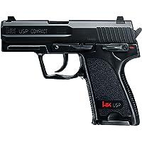 HECKLER & KOCH Airsoft USP Compact - Pistola de Airsoft (0,5 Julios, Talla única), Color Negro