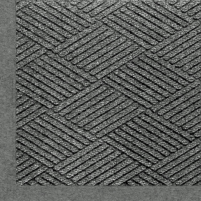M+A Matting 2297 Waterhog Eco Premier Fashion PET Polyester Fiber Indoor//Outdoor Floor Mat 8.4 Length x 3 Width 3//8 Thick SBR Rubber Backing Maroon