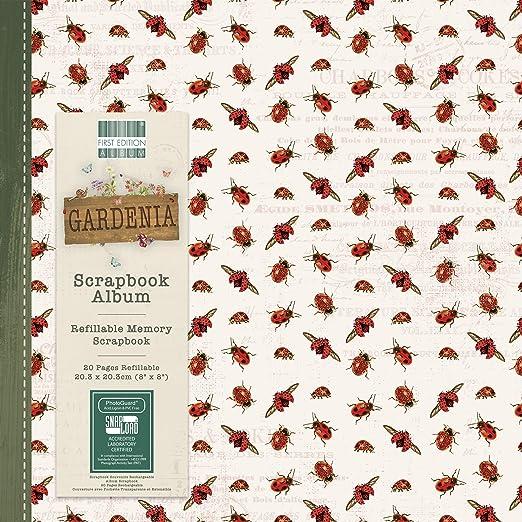 Circles Scrapbook Album 8x8 Snap Load First Edition Perfect Allusion