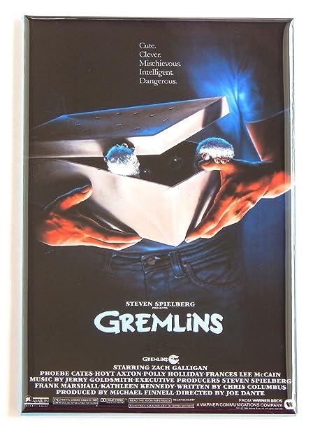 Gremlins Póster de película imán para nevera: Amazon.es: Hogar
