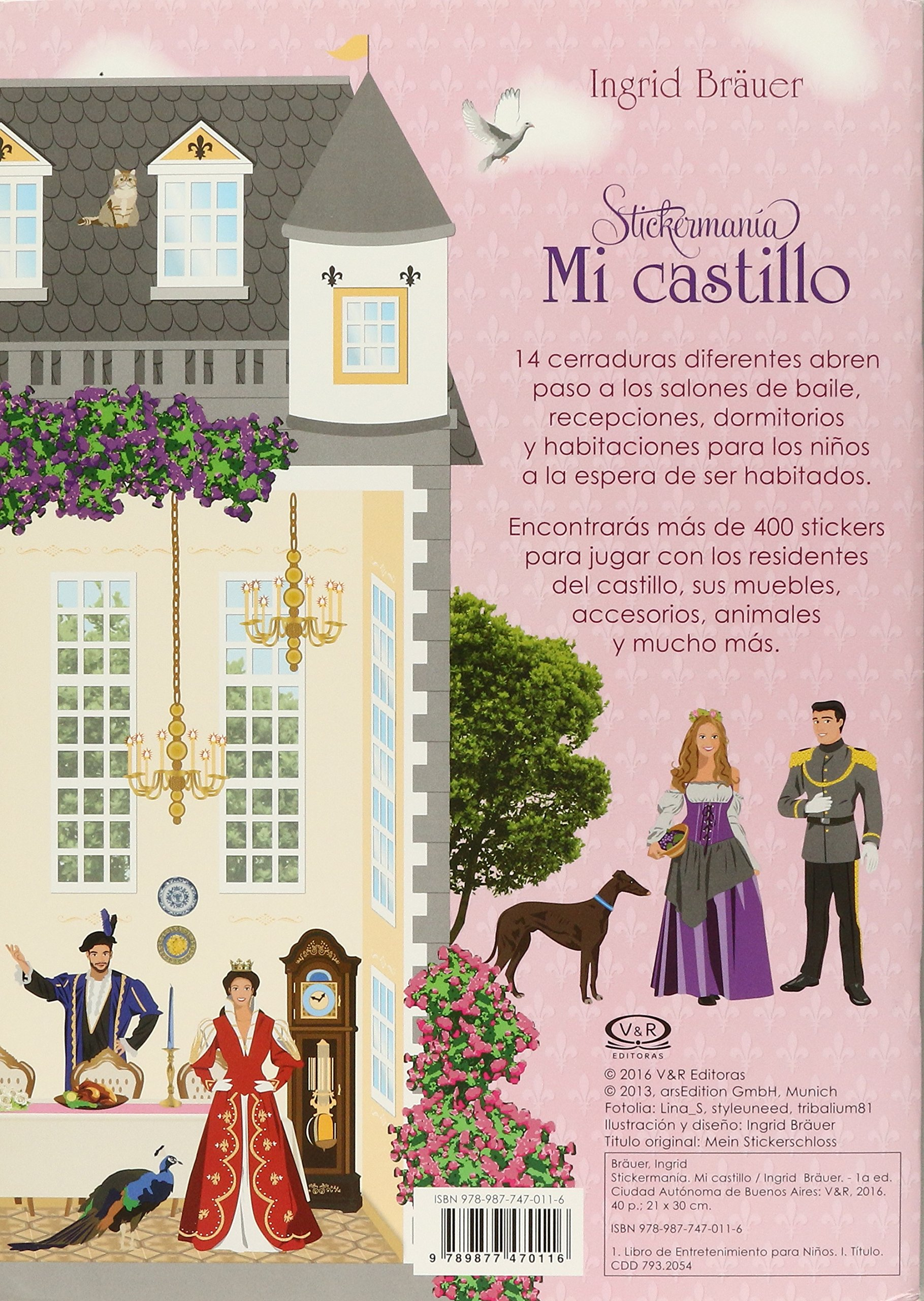 MI CASTILLO / STICKERMANIA: VERGARA & RIBA: 9789877470116: Amazon.com: Books