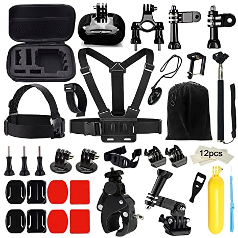 Funnykit 46-in-1 Accessories Kit for Gopro Hero 4/3/2/1 <span at amazon