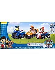 PAW PATROL – Racers Team Pack – Chase, Zuma & Ryder – Set 3 Mini Vehículos al Rescate La Patrulla Canina