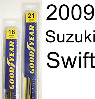 """product image for Suzuki Swift (2009) Wiper Blade Kit - Set Includes 21"""" (Driver Side), 18"""" (Passenger Side) (2 Blades Total)"""