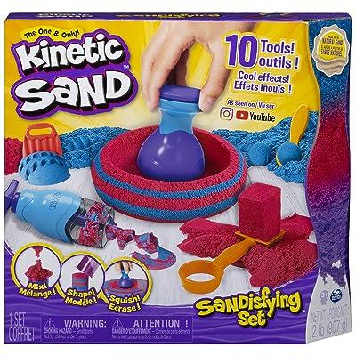 Kinetic Sand- Sandisfying (Bizak 61921467): Toys & Games