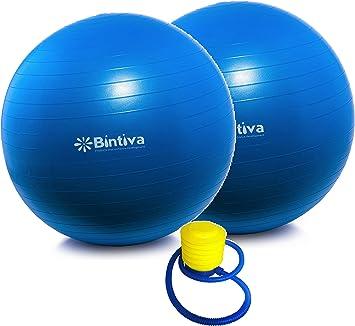 Gym Ball Birthing bintiva Anti-Burst Fitness Exercise Stability Yoga Ball//Swiss