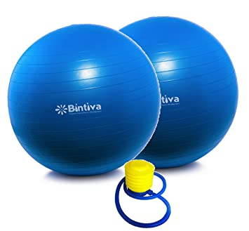 Amazon.com: Anti-burst Fitness Exercise Stability Yoga Ball ...