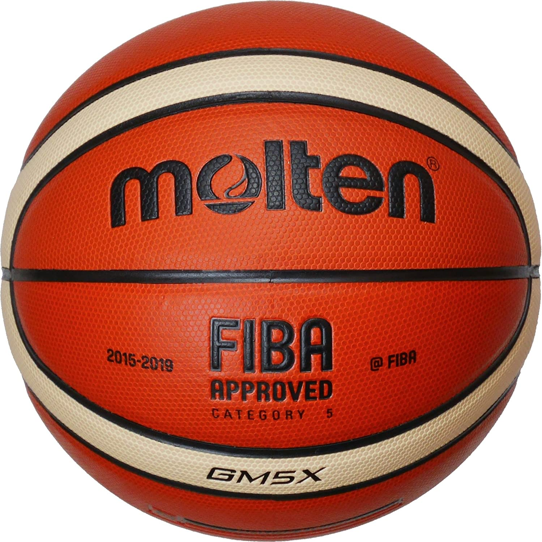 MOLTEN BGMX - Balón de Baloncesto Junior, Naranja y Marrón Claro ...