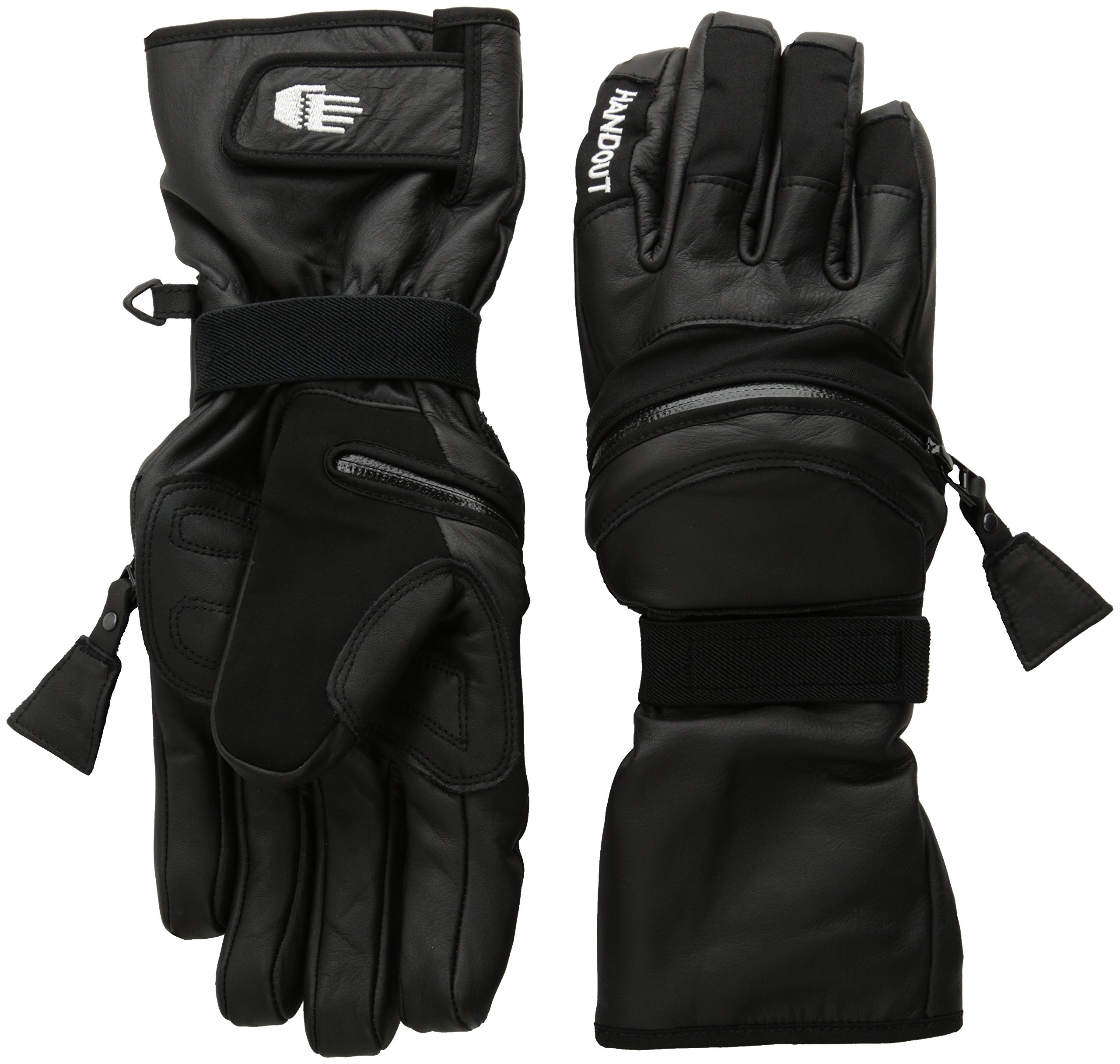Hand Out Gloves Pro Gloves, Black, X Large
